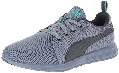 PUMA Men's Carson Runner Camo Training Shoe,Trade Winds/Turbulence/Pool Green,12 M US