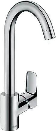 hansgrohe 71835000 Logis single lever kitchen mixer 260, chrome