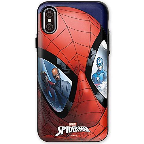 Coque carte miroir avec Spider Man pour Apple iPhone 8/iPhone 7 (Hero)