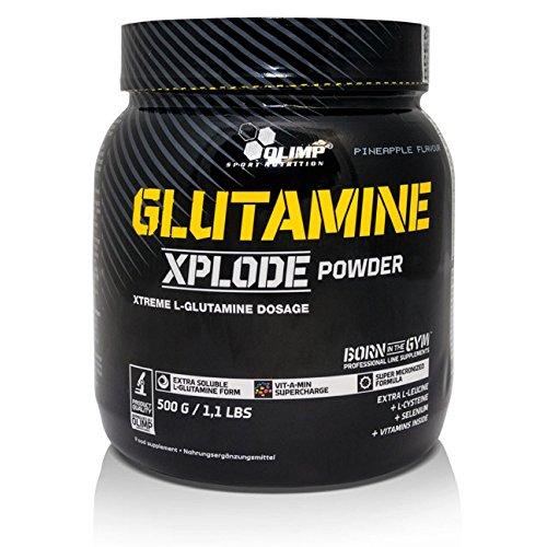 OLIMP L-glutamine Xplode poeder aminozuur, 500 g poeder
