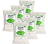 Veeda 100% Natural Cotton PH Balanced Hypoallergenic Feminine Wet Wipes, Safe Cleansing Cloths for Sensitive Skin, Unscented, 20 Count (Pack of 6)