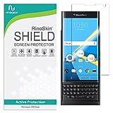 RinoGear BlackBerry PRIV Screen Protector Case Friendly Screen Protector for BlackBerry PRIV Accessory Full Coverage Clear Film