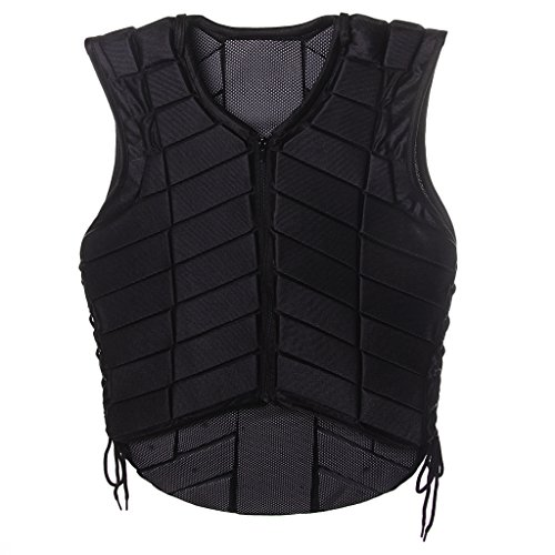Jili Online Adults Equestrian Protective Vest Horse Riding Vest Body Protector Safety Waistcoat