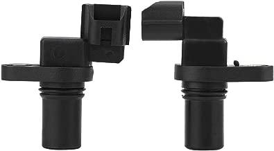 Cuque 42621-39052 1Pair Automotive Speed Sensor Input Output Auto Parts for Hyundai Kia 1997-2009 4262039051 42620-39200 42621-39200 D41436 D41438 D82436 D82438 Plastic Black