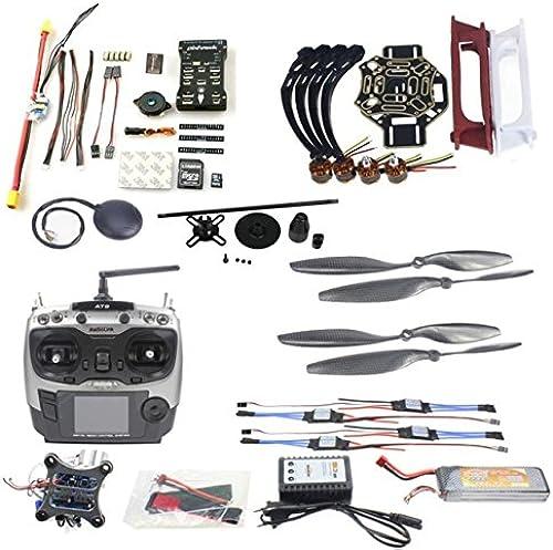 XuBa F02192-AE Drohne Quadcopter 4-Achsen Flugzeug Kit F450 450 Rahmen PXI PX4 Flugsteuerung 920KV Motor GPS AT9 Transmitter a