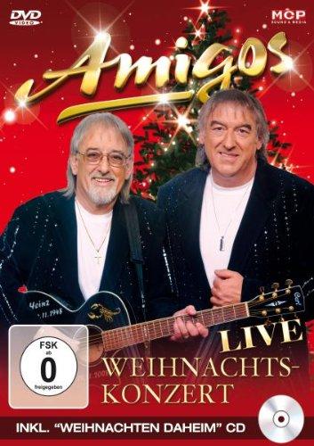 Die Amigos - Weihnachtskonzert [2 DVDs]