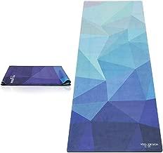 Yoga Design Lab FMA-YDL034 Travel Geo Blue Training Mat