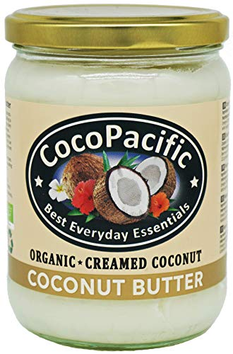 CocoPacific - Crema de manteca de coco bio, 500 ml