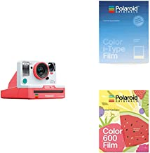 OneStep 2 VF Coral with Color Film for I-Type Summer Blues and Color Film for 600 Summer Fruits