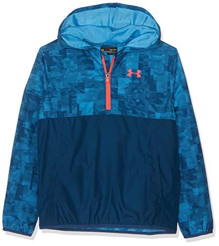 Under Armour Jungen Packable 1/2 Zip' Shirts, Blau, YMD