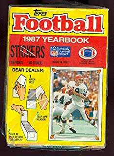 Best 1987 topps football stickers Reviews