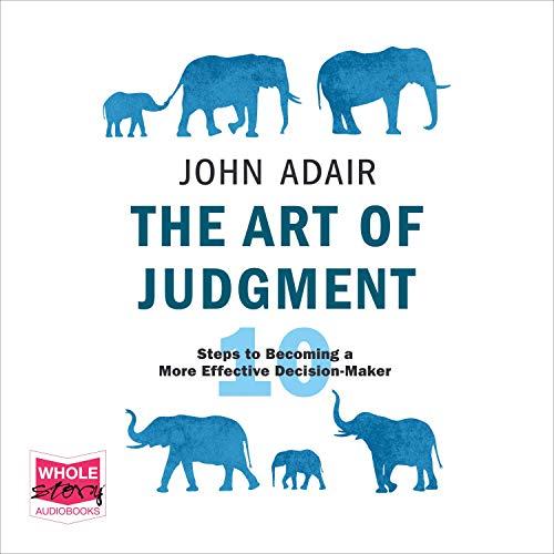 The Art of Judgment Titelbild