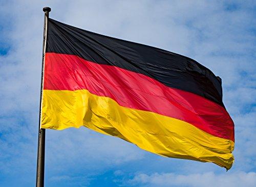 RIESEN Deutschland Fahne Flagge XXXL 190x450cm