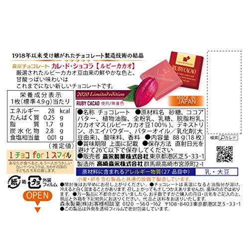 森永製菓『カレ・ド・ショコラルビーカカオ』