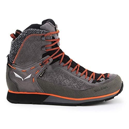 Salewa M Mountain Trainer 2 Winter GTX Grau, Herren Gore-Tex Winterstiefel, Größe EU 41 - Farbe Grey - Fluo Orange