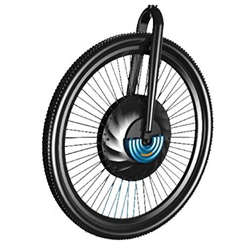 OANCO Kit di Conversione E-Bike 36V 240W Kit di Conversione Bicicletta Elettrica 20-29 Pollici 700C Ruota Motore con Mozzo Anteriore con Batteria da 3,2 Ah (Color : V Wire Control, Size : 24 in)