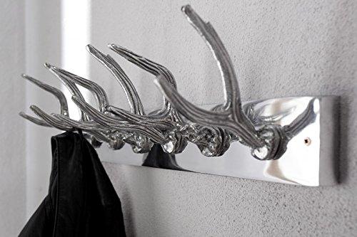 DuNord Design garderobe wandgarderobe kledinghaken FORST aluminium gewei design
