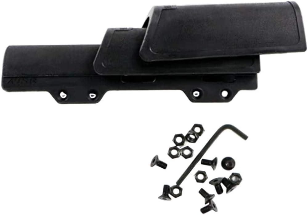 LIUSHUNBAO, 1 Pieza Elevador Especial de mejillas for CTR Stock Pistolas de Juguete Exterior Modificado Parte - Negro