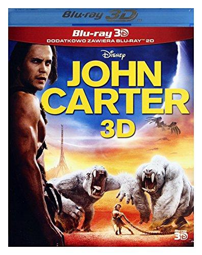 John Carter: Zwischen zwei Welten [Blu-Ray]+[Blu-Ray 3D] [Region B] (IMPORT) (Keine deutsche Version)