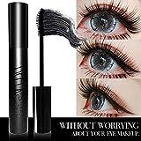 Mesaidu Mascara 3D Fiber Lashes, Best Black Lash Fibers with Waterproof & Hypoallergenic Ingredients…