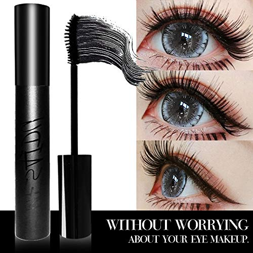 Mesaidu Mascara 3D Fiber Lashes, Best Black Lash Fibers with Waterproof & Hypoallergenic Ingredients…
