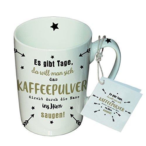 PPD Porzellan Henkelbecher Tasse 0,25L (Kaffeepulver)