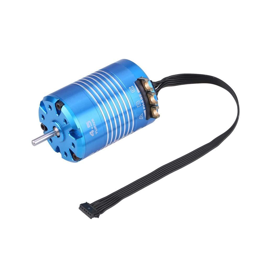 RC Car Motor, 2 Poles 540 4.5T/13.5T Sensored Brushless Moto