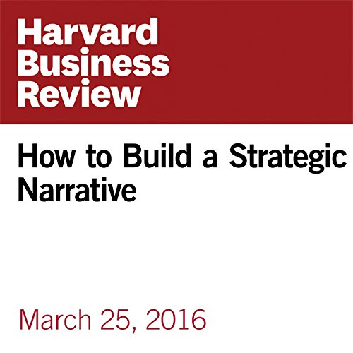 How to Build a Strategic Narrative cover art