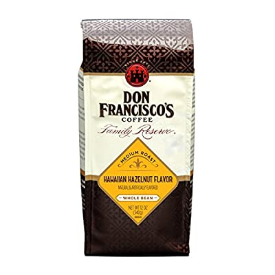 Don Francisco's Kona Blend Whole Bean Coffee, 100% Arabica Beans from Don Francisco's