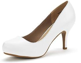 Amazon.com: Women's White Dress Shoes
