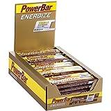 PowerBar Energieriegel Energize mit Magnesium und Natrium – Fitness-Riegel, Kohlenhydrate Riegel mit Hafer, Früchten und Maltodextrin bei erhöhtem Energiebedarf – 25 x 55 g Chocolate