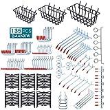135PCS Pegboard Accessories Organizer Kit,...