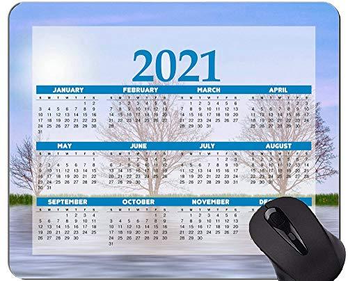 2021 Kalender Mauspad, Nature Tree Lake Mauspads