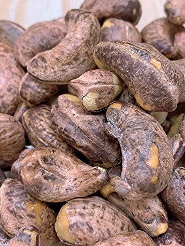 渋皮付ローストカシュナッツ塩味300g(150g×2袋)