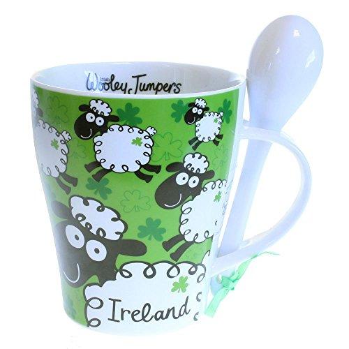 Age jerséis Irlanda taza y cuchara infantiles