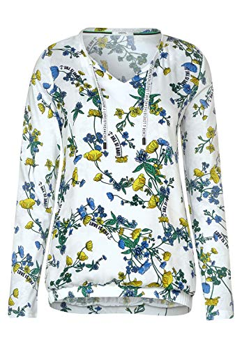 Cecil Damen 314593 Tunika-Shirt, Light Alabaster Beige, Large