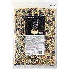 波里 4種の煎り豆ミックス 500g 国産 煎り大豆 無塩 無添加 豆菓子 乾燥豆