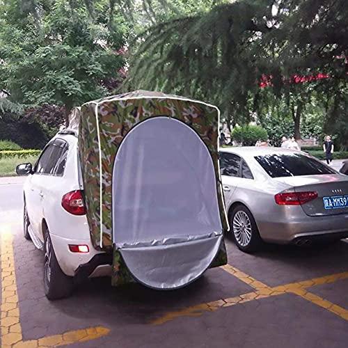 SXFYHXY Carpa para Autos Refugio para El Sol Impermeable Toldo para Auto Camper Carpa para Remolque Carpa para Maletero De Auto Sombrilla Resistente a La Lluvia