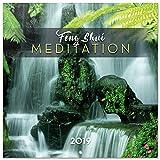 Grupo Erik–Calendario de pared 2019Feng Shui Meditation 30x 30cm