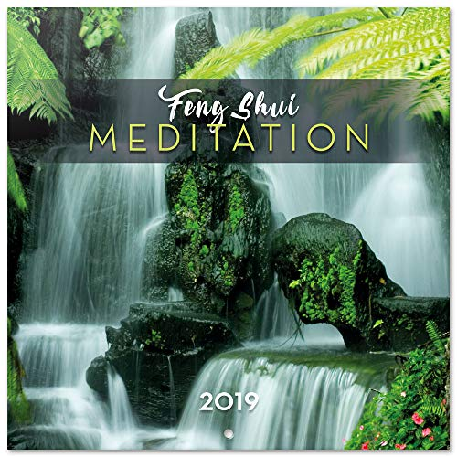 Grupo Erik – Calendario de pared 2019 Feng Shui Meditation 30 x 30 cm