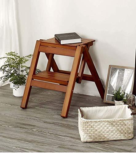 Stuhl Trittleiter Für Erwachsene Klappstuhl Massivholzhocker Tragbare Kleine Bank Outdoor Klappstuhl Home Stair Stool/Zwei