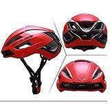 El casco de luz protege Ruta de montaña, equitación, bicicleta Casco Integrado del equipo que moldean transpirable Casco - Efectivamente reducir la resistencia del aire y reducir Swe (Color: Amarillo