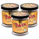 3x Twix Chocolate Caramel with Crunchy Biscuit Pieces Brotaufstrich 200g