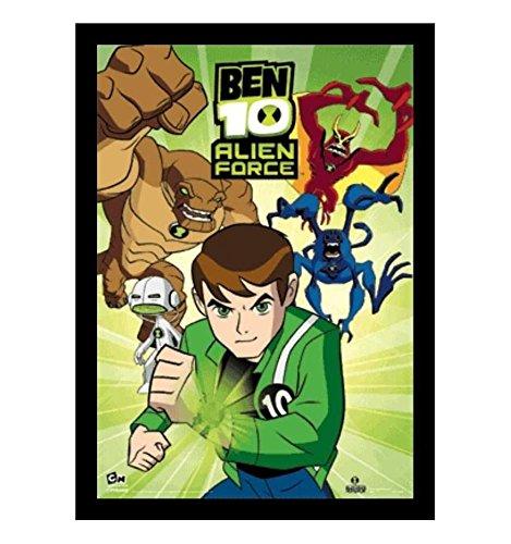 Poster 3D Enmarcado Ben 10 Alien Force