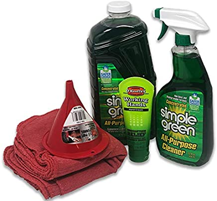 Simple Green Concentrate All-Purpose Cleaner (Bundle Kit) - Includes 22 oz Spray