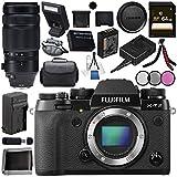 Fujifilm X-T2 Mirrorless Digital Camera (Body Only) 16519247 + Fujifilm XF 100-400mm f/4.5-5.6 R LM OIS WR Lens 16501109 Bundle