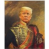 MXIBUN Donald Trump Portrait Kunst Poster Amerikanischer