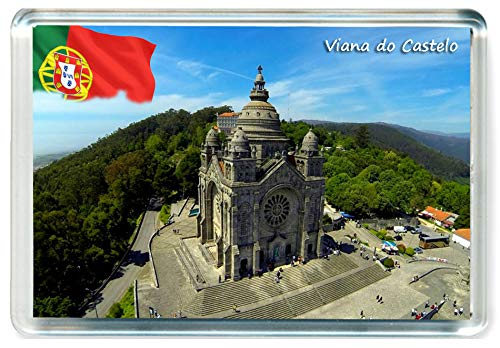 DreamGirl I391 Viana do Castelo Jumbo Imán para Nevera Portugal Travel Fridge Magnet