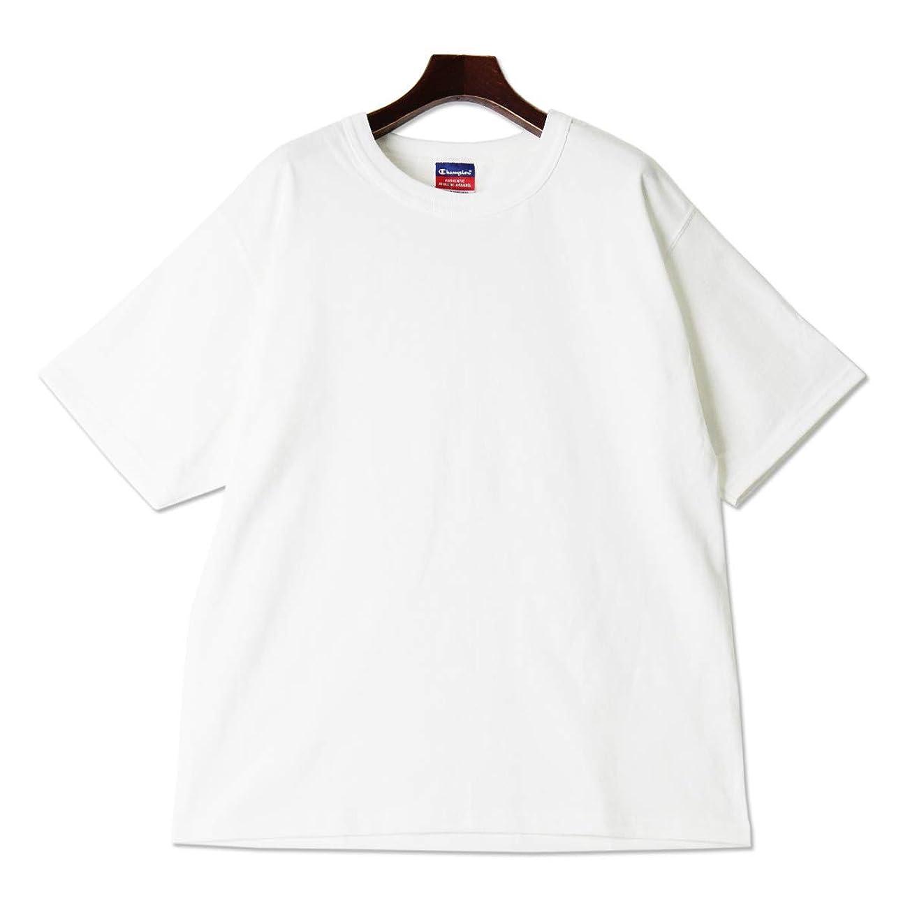 雨締め切り手を差し伸べる(チャンピオン)Champion 7oz ヘビーウェイト Tシャツ メンズ ユニセックス おおきいサイズ ブランド 半袖 無地