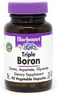 BlueBonnet Triple Boron Vegetarian Capsules, 3 mg, 90 Count (743715006850)